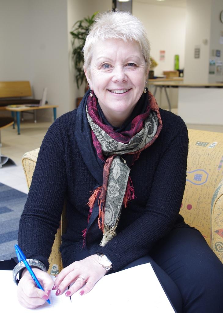 Sally Ware, new Functional Skills Tutor at Hoople