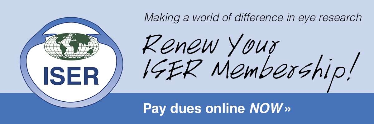 Renew your ISER membership - Pay dues online now