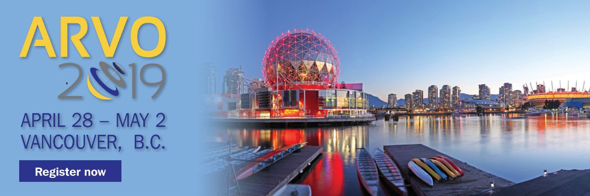 ARVO 2019 · Apr 28–May 2 · Vancouver, BC, Canada