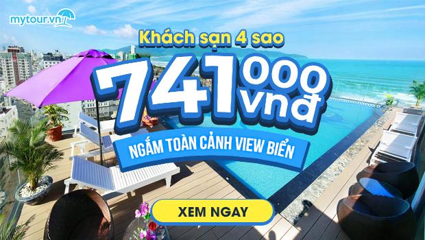 Khách sạn 4* ngắm toàn cảnh view biển chỉ 741k. Đặt ngay👉