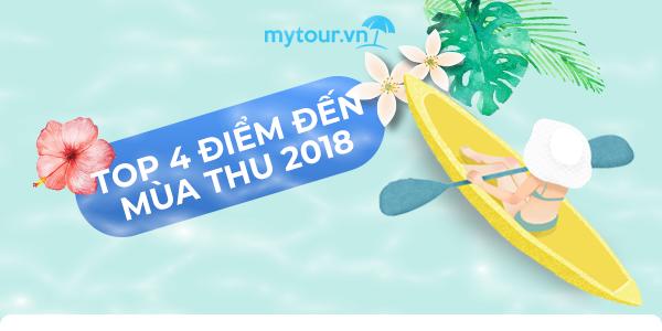 """⭐4 điểm đến mùa thu 2018 """"không đi là tiếc""""😍 KS chỉ từ 70K➡"""
