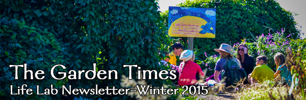 The Garden Times - Life Lab's Newsletter Winter 2015