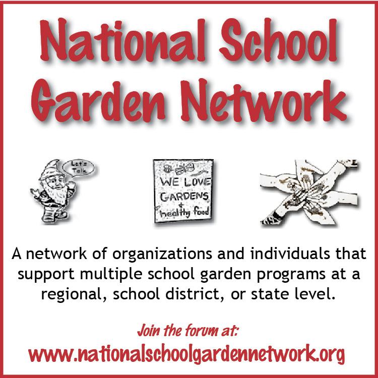National School Garden Organization Forum