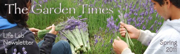 The Garden Times - Spring 2011 E-Update from Life Lab