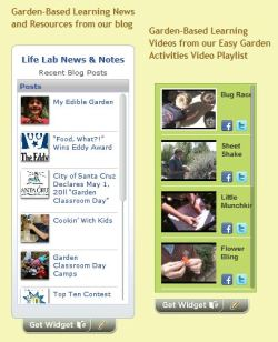 Share a Life Lab Widget on your website!