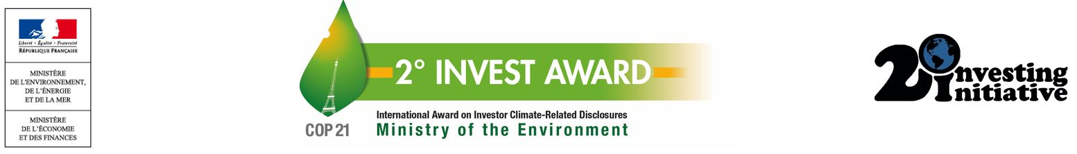First 2° invest climate disclosure awards announced