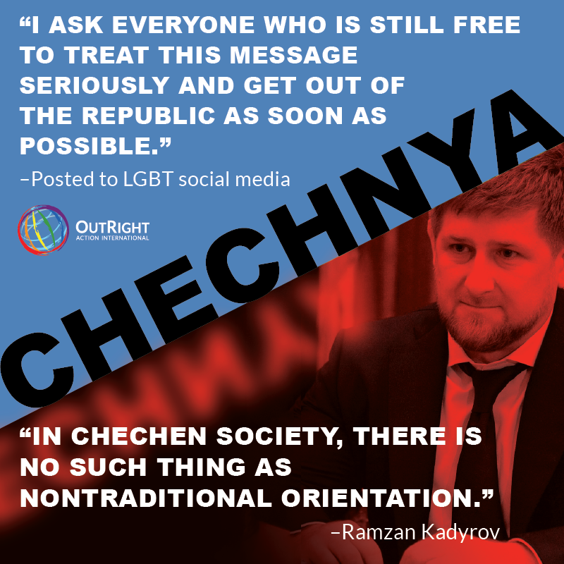 Support LGBT Chechens