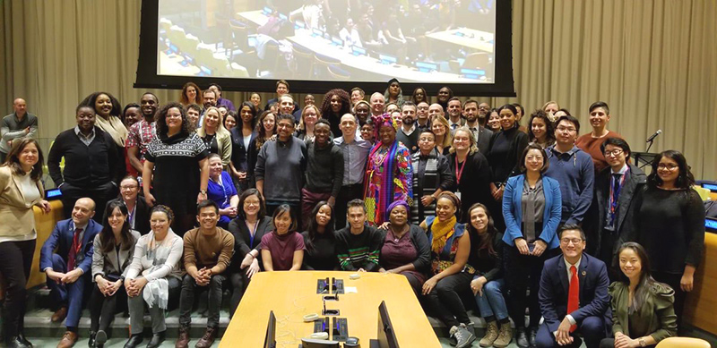 Advocacy Week Participants with members of the UN LGBTI Core Group