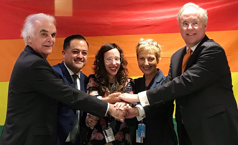 The UN LGBTI Core Group welcomes Sweden and Bolivia