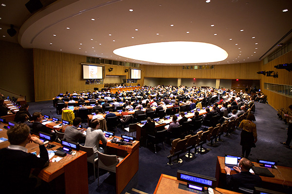 UN LGBTI Core Group High Level Event on September 26. (Photo Credit: OutRight)