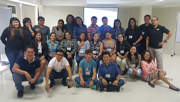 Participants at a training in the Philippines (Photo: OutRight, Ging Cristobal)