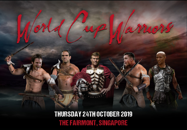 World Cup Warriors Thursday 24th October 2019 The Fairmont, Singapore