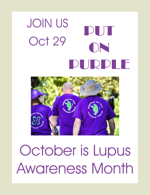 October is Lups Awareness Month