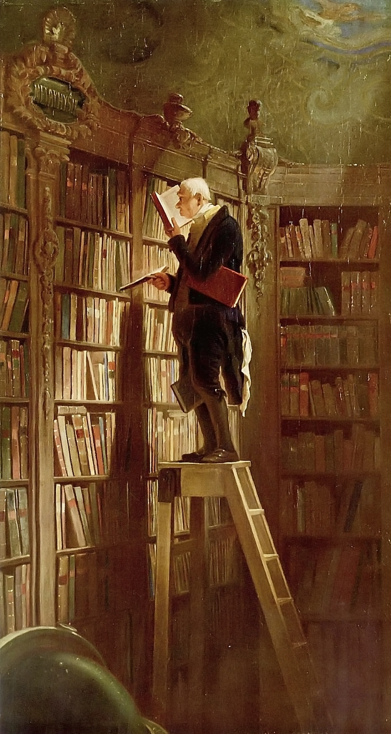 The Bookworm, by Carl Spitzweg