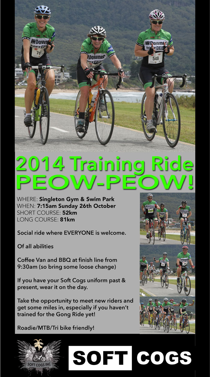 Training Ride Flyer