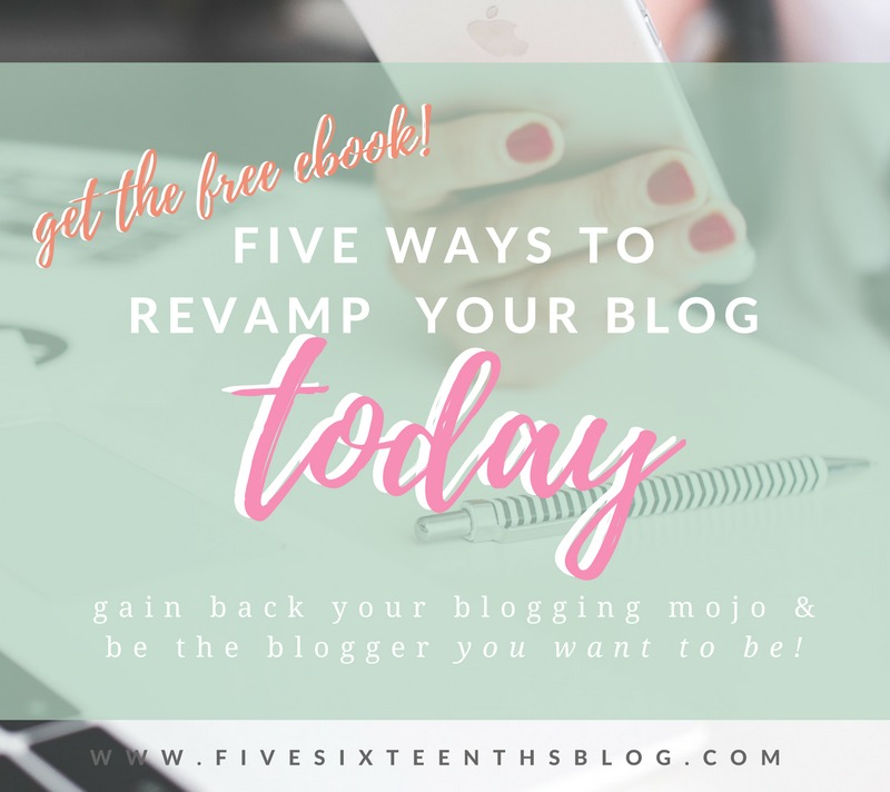 5 Ways to Revamp your Blog Today!
