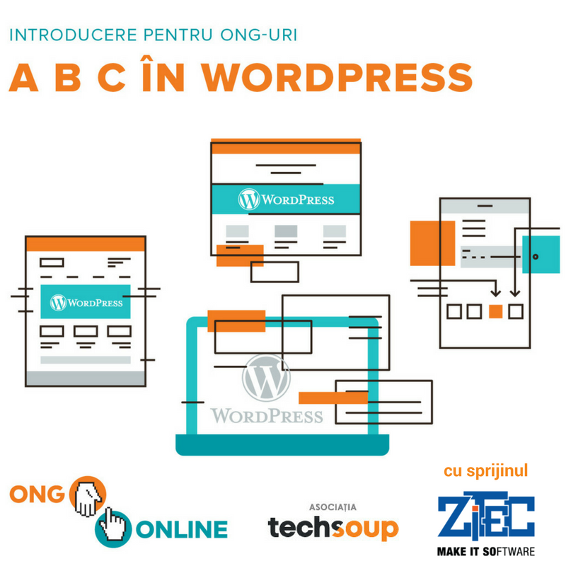 A B C in WordPress