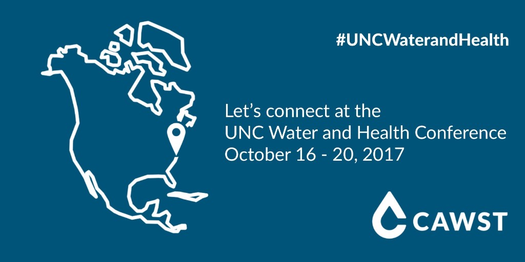 Let's connect at UNC Water and Health