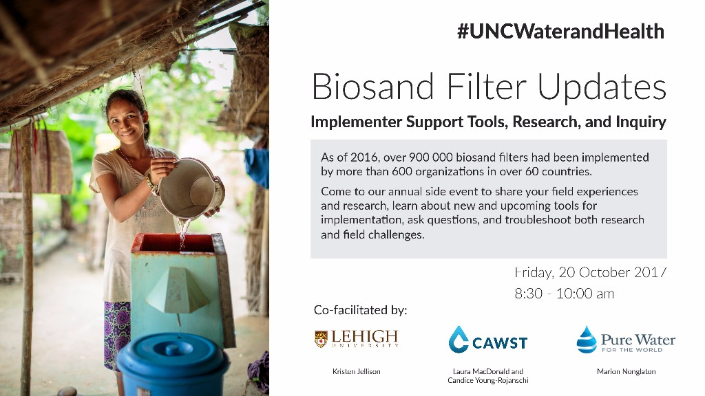 BSF Updates - UNC Water and Health