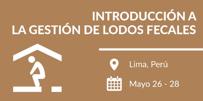 Perú - Gestión de Lodos Fecales - 26-28 mayo, 2017