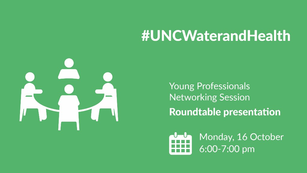 Young Professionals Networking Session - UNC Water and Health 2017