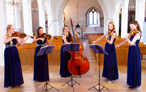 female string quartet