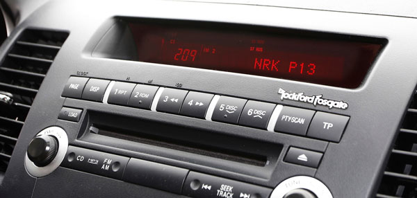 Car Radio in Norway - Photo: Tore Guriby/DRN