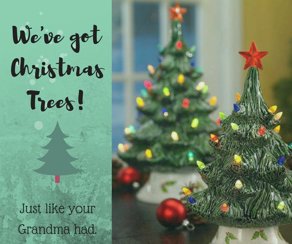 We've got Christmas Trees