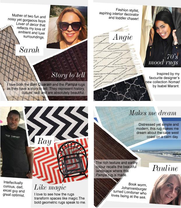 Meet the Herringbone team and see their favourite rugs