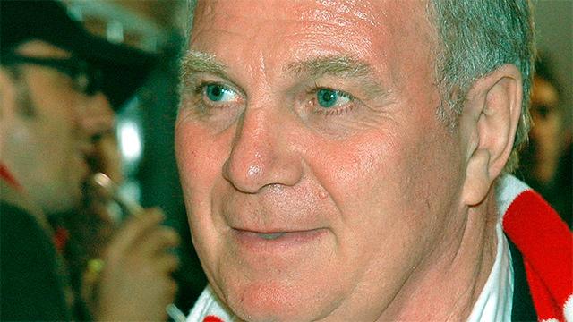 Uli Hoeness, erfolgreicher Fussballspieler, Manager des FC Bayern