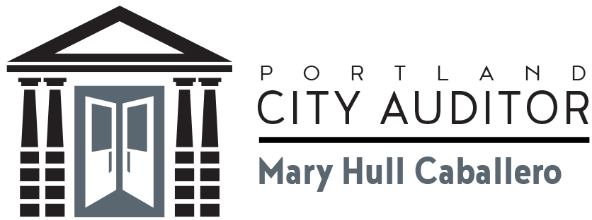 Logo for the Portland City Auditor