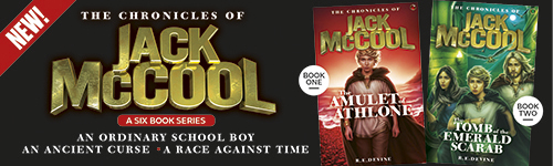 Image. Advertisement: The Chronicles of Jack McCool