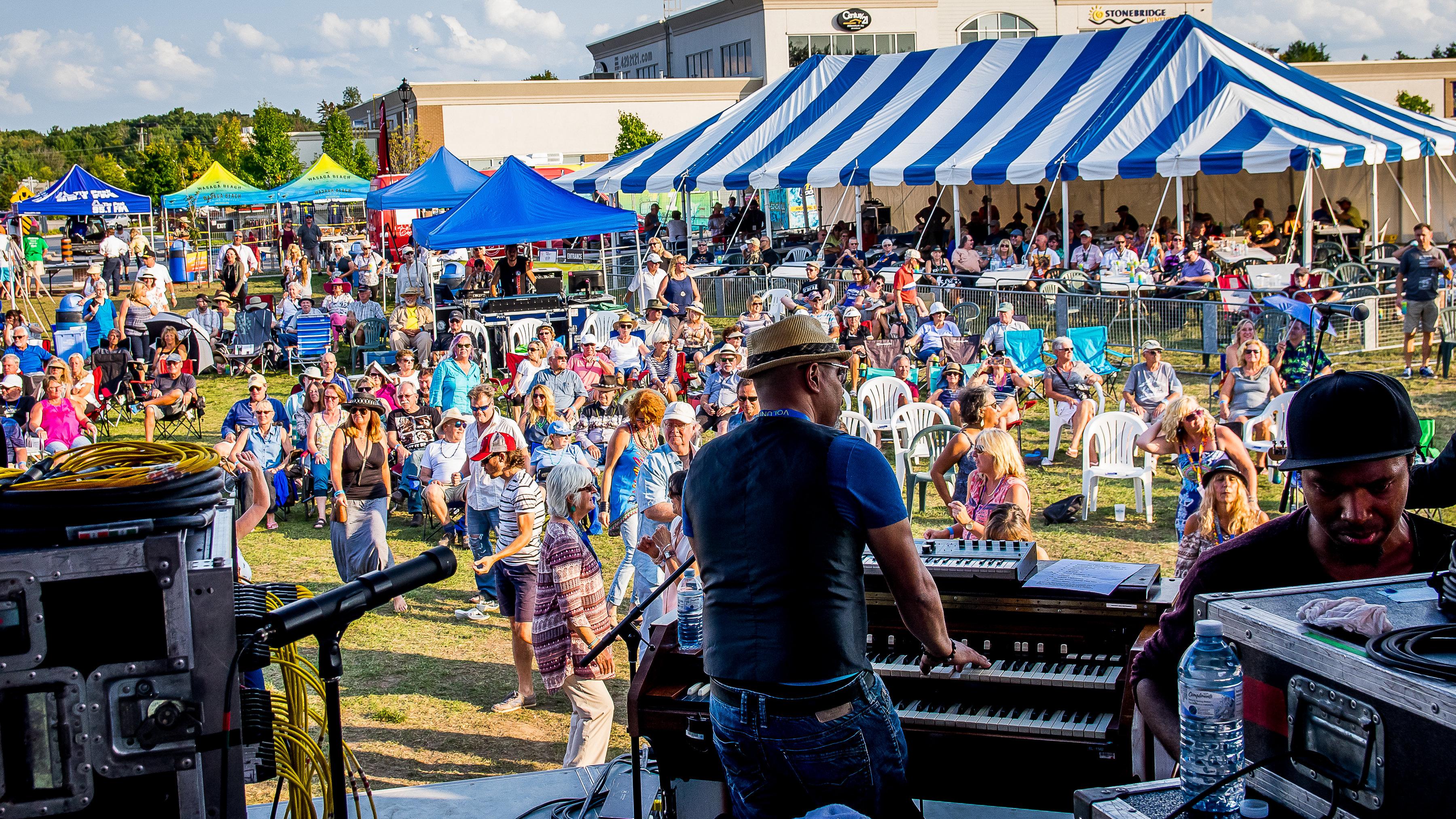 Wasaga Beach Blues Fest @ Stonebridge Town Centre