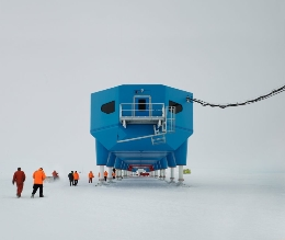 Working in Antarctica