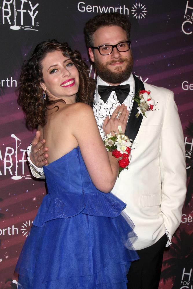 Seth Rogen & Lauren Miller