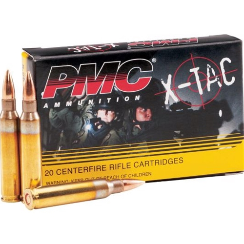 PMC X-TAC 5.56mm NATO Ammo 55 Grain FMJ 1000 Rounds