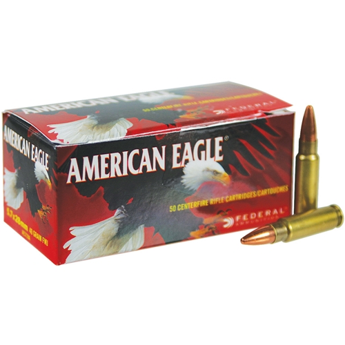 Federal American Eagle 5.7x28mm Ammo 40 Grain Total Metal Jacket View All From Federal Ammunition