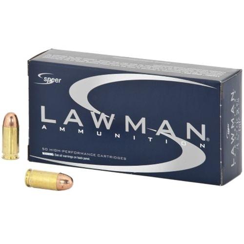 Speer Lawman 380 ACP AUTO Ammo 95 Grain Total Metal Jacket