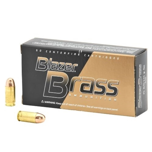 CCI Blazer Brass 45 AUTO 230 Grain FMJ 1000 Rounds