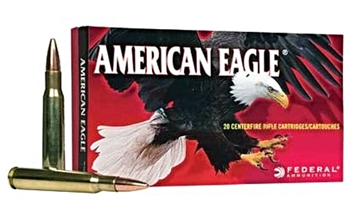 Federal American Eagle 223 Remington 50 Grain JHP