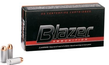 CCI Blazer 9mm Luger Ammo 115 Grain Full Metal Jacket