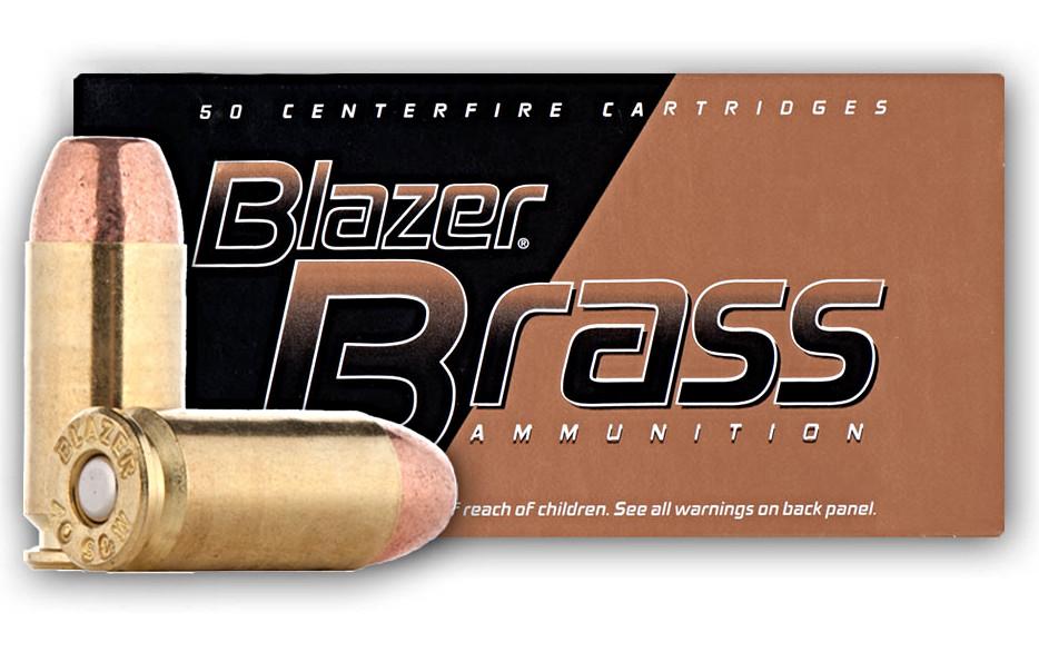 CCI Blazer Brass 40 S&W 180 Grain FMJ