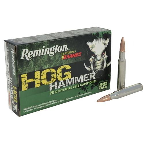 Remington Hog Hammer 300 AAC Blackout Ammo 130 Grain Barnes TSX HP