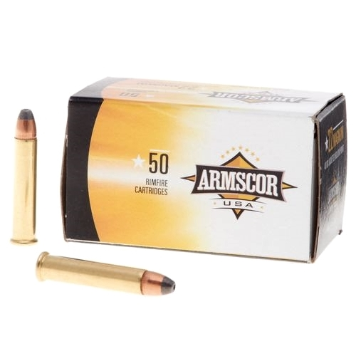 Armscor USA 22 WMR Ammo 40 Grain Jacketed Hollow Point
