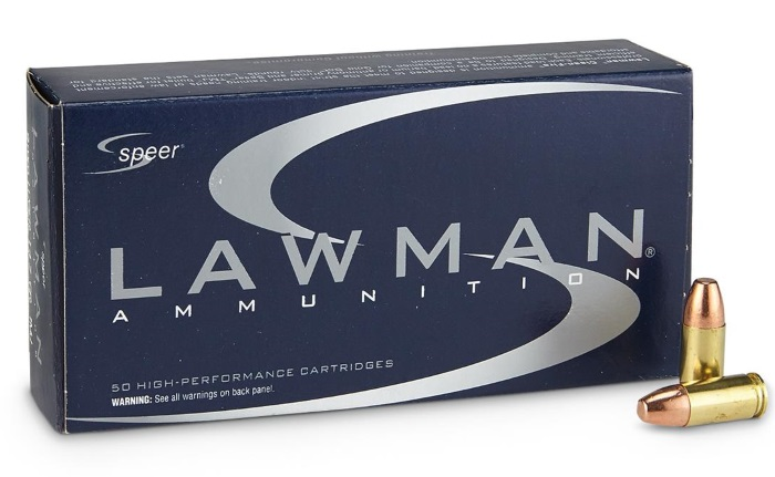 Speer Lawman 9mm 147 Grain TMJ