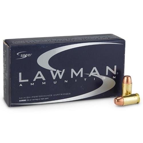 Speer Lawman 45 ACP AUTO 230 Grain TMJ FN