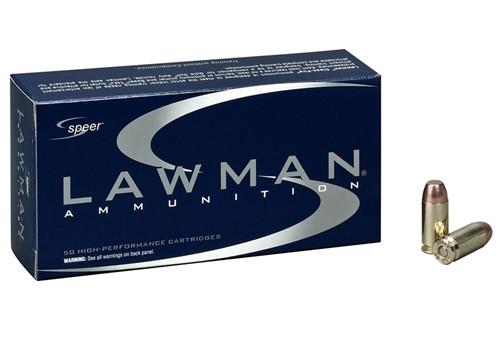 Speer Lawman 9mm Luger Ammo 115 Grain Total Metal Jacket