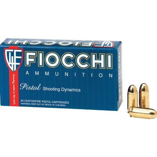 Fiocchi Shooting Dynamics 9mm Luger Ammo 115 Grain Full Metal Jacket