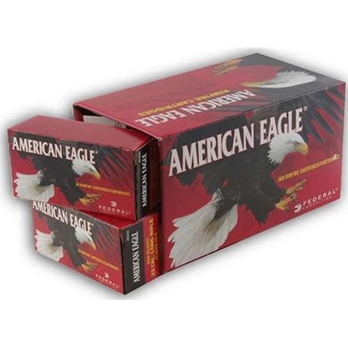 Federal American Eagle 22 Long Rifle 38 Grain Plated Lead Hollow Point 400 Rounds