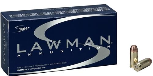 Speer Lawman 9mm Luger Ammo 124 Grain Total Metal Jacket